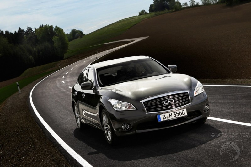 Infiniti Plans To Outclass The LS460 With New Q70 Luxury Flagship